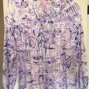 NWOT Lilly Pulitzer Elsa Top Size Small